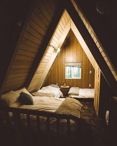 A-Frame Bedroom - By Michael Flugstad