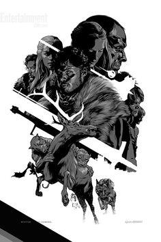 Pôsteres oficiais de Game of Thrones na Comic Con 2012! ~ Game of Thrones BR