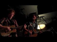 "Passenger ft Ed Sheeran - ""Snowflakes"" - YouTube I can hardly take it.  They're make such  stinking beautiful music."