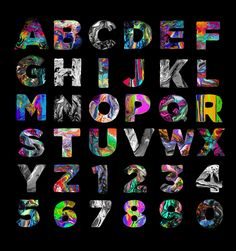Font & Digital Paintings on Behance
