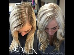 DIY Blonde Highlights And Root Touch Up Tutorial - My Updated Hair Routine Blond Ombre, Blonde Balayage, Blonde Hair, Brunette Hair With Highlights, Blonde Roots, Chocolate Brown Hair Color, Hair Color Techniques, Extreme Hair, Fancy Hairstyles