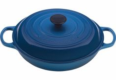 We love using our Le Creuset Signature 3.5 Quart Braiser to pan roast. Its wide shallow body makes it simple to prepare elegant and tasty meals that are healthy too. http://www.kitchenkapers.com/news-archive-2014-healthy-cooking.html #kitchenkapers #homemadefun #healthyyum