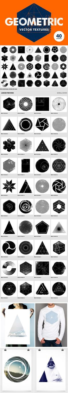 26 Ideas Tattoo Geometric Sacred Geometry Shape For 2019 Geometry Shape, Sacred Geometry, Geometric Designs, Geometric Art, Deco Surf, Dotwork Tattoo Mandala, Typographie Logo, Web Design, Logo Design