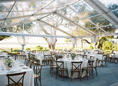 For Plan B if need tent for rain   | S Carolina Wedding at Lowndes Grove :: Sarah & Phil