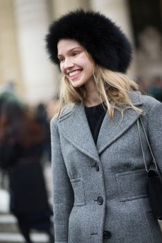 Street Style Haute Couture Spring 2015 - Spring 2015 Street Style