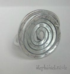 TUTO - Faire des bijoux en aluminium martelé                                                                                                                                                                                 Plus