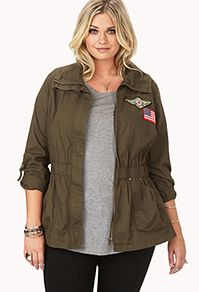 Find fab faux leather, plus denim jackets and blazers | Forever 21