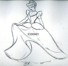 """Steve Thompson's unused concepts from """"The Art of the Disney Princess"""" book that he was in."""