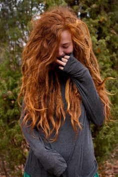 ginger dreads