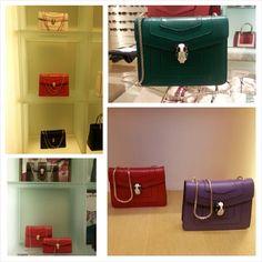 Bulgari Serpenti Bags Small and Medium. Single and Double Chain BRAND NEW  2014! جناط 093951ad2420c