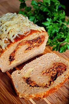 Bacon Jam and Fontina Loaded Turkey Meatloaf6