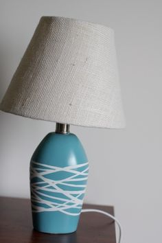 diy painted lamp crafts-to-make... so easy!