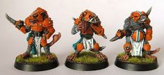 In September I unveiled Part 1  in my Skaven Blood Bowl team retrospective; a very enjoyable exercise in converting and modernising Jes Good...