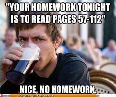 hahaha college life
