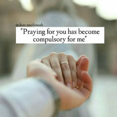 Pray for your husband or wife Islamic Quotes On Marriage, Muslim Couple Quotes, Muslim Love Quotes, Islamic Love Quotes, Islamic Inspirational Quotes, Islam Marriage, Muslim Couples, Love Husband Quotes, True Love Quotes