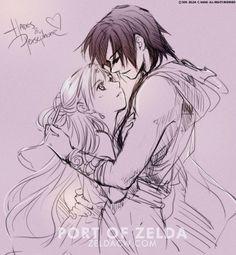 Sketch of Hades x Persephone by zeldacw.deviantart.com on @DeviantArt