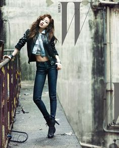 KARA's Goo Hara for W Korea