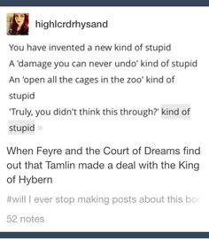 CONGRATULATIONS FROM HAMILTON AND A COURT OF MIST AND FURY YES OH GOSH YES