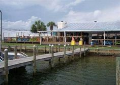 Scully's Pub & Grub on the Bayou - Fort Walton Beach, Florida - June 2013.