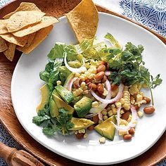 Cool Southwestern Salad with Corn and Avocado recipe | Health.com