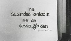 Sen ne anladınki zaten?? . Mood Quotes, Girl Quotes, Tears Of Sadness, Good Sentences, Rare Words, Famous Words, Tumblr Quotes, Just Smile, My Mood