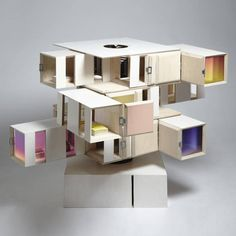 Contemporary houses for guys and dolls on Ladyland www.thisisladyland.com