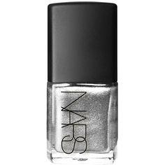 NARS Nail Polish, Space Odyssey 1 ea ($19) ❤ liked on Polyvore featuring beauty products, nail care, nail polish, nails, beauty, makeup, cosmetics, matte nail polish, shimmer nail polish and matte nail color