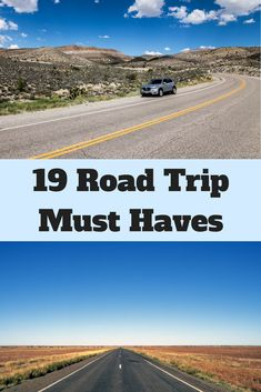 19 Road Trip Must Haves for your Next Road Trip