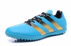 35421a4cd 2018 FIFA World Cup adidas ACE 16 3 TF blue gold Black