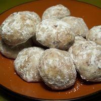 Snowball Cookies Recipe.