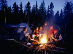 camping campfire Best Campgrounds In The DC Area