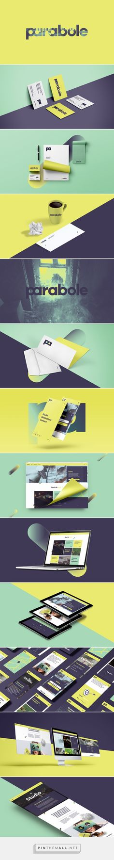 Parabole Branding by 32Mars | Fivestar Branding – Design and Branding Agency & Inspiration Gallery - created via https://pinthemall.net