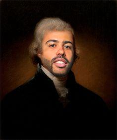 Bwahahaha. Daveed Diggs as Thomas Jefferson