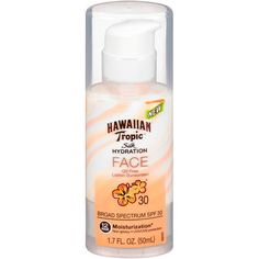 Face sunscreen for oily and combo skin
