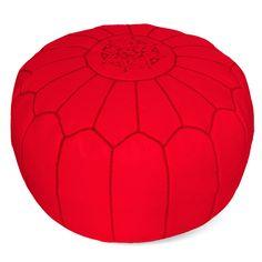 Moroccan Pouf - Poppy