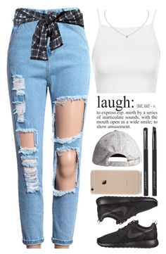 """""""September 11, 2015"""" by inesdinis6 ❤ liked on Polyvore featuring 3.1 Phillip Lim, Topshop, NIKE, H&M and Japonesque"""