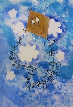 Podzimní drak Autumn Activities For Kids, Halloween Crafts For Kids, Halloween Art, Art Lessons For Kids, Art Lessons Elementary, Art For Kids, Fall Art Projects, Craft Projects For Kids, Sky Art