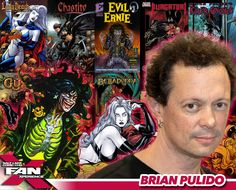 Meet Brian Pulido at #FANX16! Founder of Chaos! Comics and creator of Lady Death! #utah