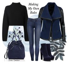 """""""Making My Own Rules"""" by debbie-michailides ❤ liked on Polyvore featuring DKNY, Vince, Mansur Gavriel and Casadei"""