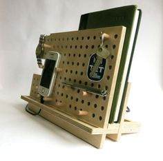 Gift for men Phone holder tablet holder ipad stand by OlaDiClock
