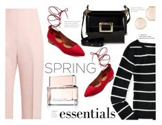 """spring lace"" by paperdollsq ❤ liked on Polyvore featuring beauty, Mossimo Supply Co., Altuzarra, Aéropostale, Roger Vivier, Givenchy, Ippolita and springperfume"