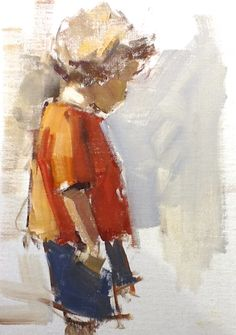 Study of Sarah , 12 x 10 Last weekend, I taught a really fun workshop at Atlanta Artists Center on Capturing the Essence...painting ...