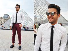 Hugo Boss Shirt, H&M Trousers, New Yorker Sunglasses