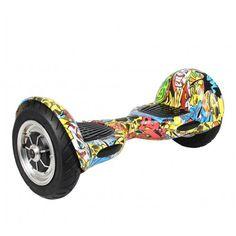 Гироскутер Smart Balance Wheel SUV 10 +Balance граффити череп