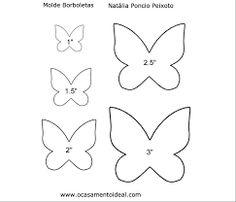 molde borboleta - Pesquisa Google