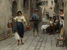 Painter: Eugene Von Blaas
