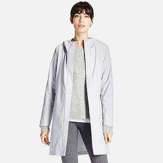 WOMEN BLOCKTECH Hooded Rain Coat