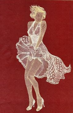 MM in Bobbin Lace (book Hiroko Miyano) Crochet Applique Patterns Free, Bobbin Lace Patterns, Ways To Lace Shoes, Stitching On Paper, Bobbin Lacemaking, Nail String Art, Lace Art, Hairpin Lace, Paper Lace