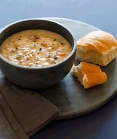 Clam chowder.  (Loved this recipe. I used chicken stock instead of clam juice so my kids would like it)