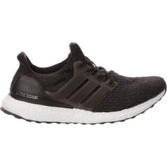 Adidas Women's UltraBoost Running Shoes (Core Black/Dark Grey, Size - Women's Running Shoes at Academy Sports Adidas Running Shoes, Nike Shoes, Adidas Sneakers, Size 10 Women, Ultraboost, Black Dark, Adidas Women, Cool Style, Womens Fashion